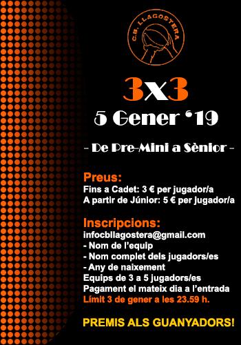 3x3 CB Llagostera